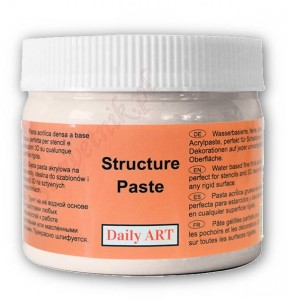Pasta strukturalna DailyArt STRUCTURE PASTE gładka 300ml