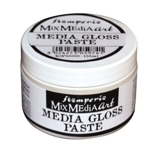 Pasta strukturalna żelowa Media Gloss Gel Paste Stamperia 150ml